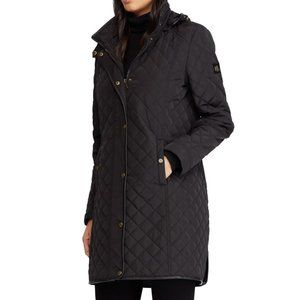 LAUREN RALPH LAUREN Quilted Hooded Parka Jacket